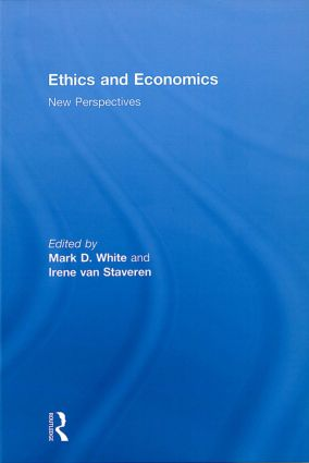 Ethics and Economics: New perspectives, 1st Edition (Hardback) book cover