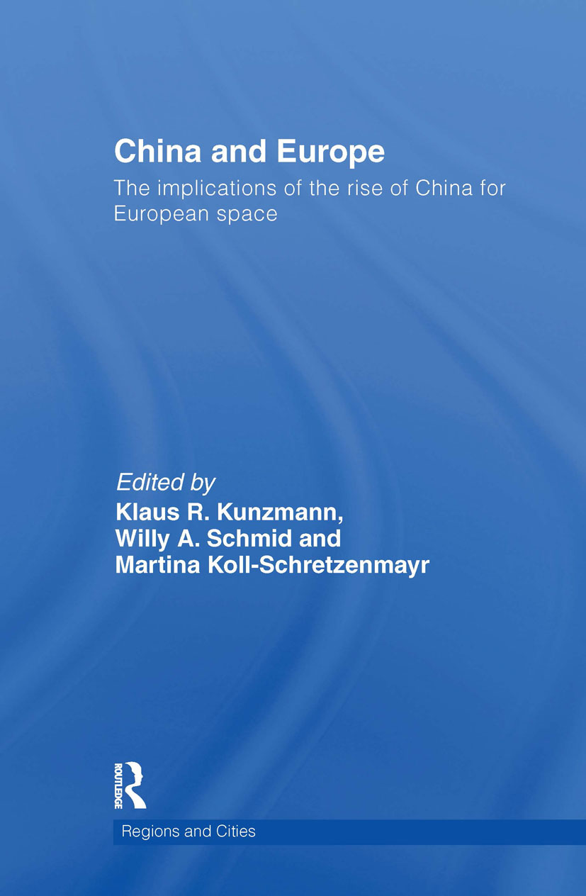 China and Europe: The Implications of the Rise of China for European Space (Hardback) book cover