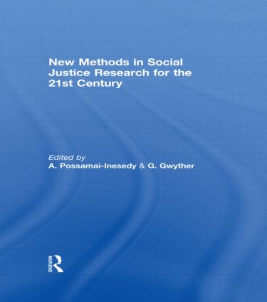 New Methods in Social Justice Research for the Twenty-First Century (Hardback) book cover