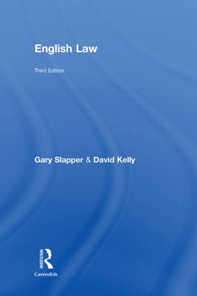 English Law: 3rd Edition (Hardback) book cover