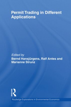 Permit Trading in Different Applications (Hardback) book cover