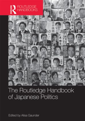 The Routledge Handbook of Japanese Politics (Hardback) book cover