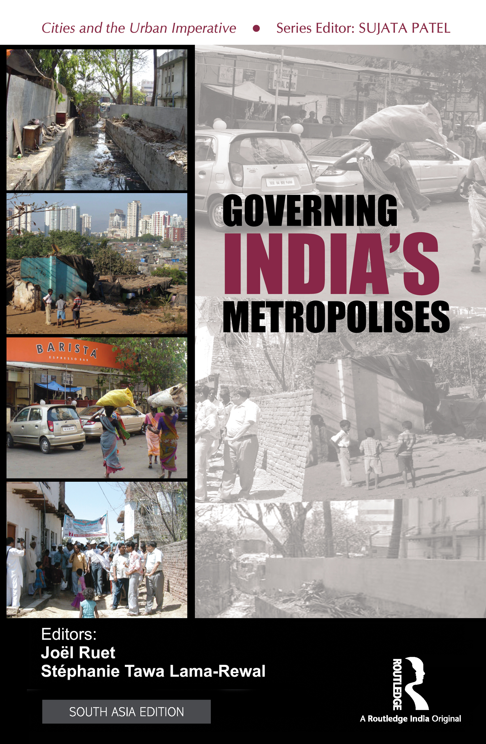 Governing India's Metropolises: Case Studies of Four Cities book cover