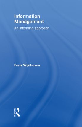 Information Management: An Informing Approach, 1st Edition (Hardback) book cover