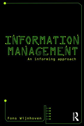 Information Management: An Informing Approach book cover