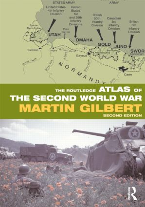 The Routledge Atlas of the Second World War: 2nd Edition (Paperback) book cover