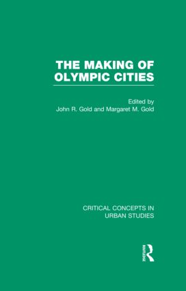The Making of Olympic Cities (Hardback) book cover