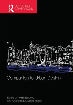Companion to Urban Design (Hardback) book cover
