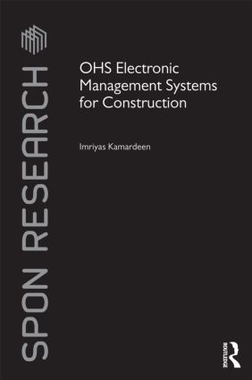OHS Electronic Management Systems for Construction (Hardback) book cover