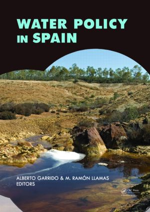 Water Policy in Spain: 1st Edition (Paperback) book cover