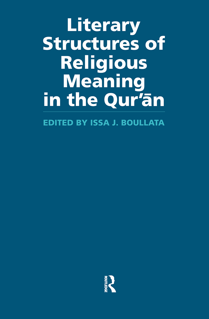 Literary Structures of Religious Meaning in the Qu'ran (Paperback) book cover