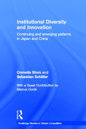 Institutional Diversity and Innovation: Continuing and Emerging Patterns in Japan and China (Hardback) book cover