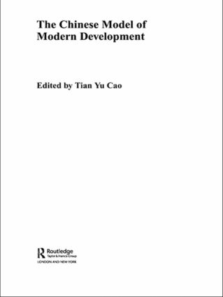 The Chinese Model of Modern Development (Paperback) book cover