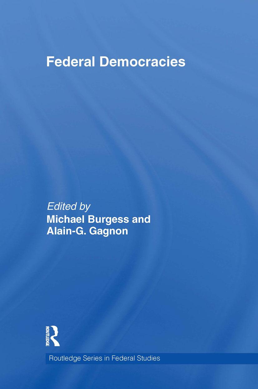 Federal Democracies (Hardback) book cover