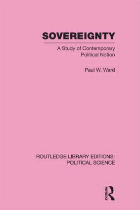 Contemporary Internationalism and the Sovereign State