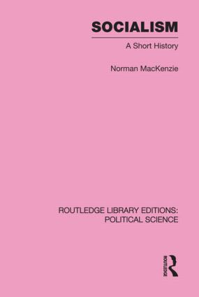 Socialism Routledge Library Editions: Political Science Volume 57 (Hardback) book cover