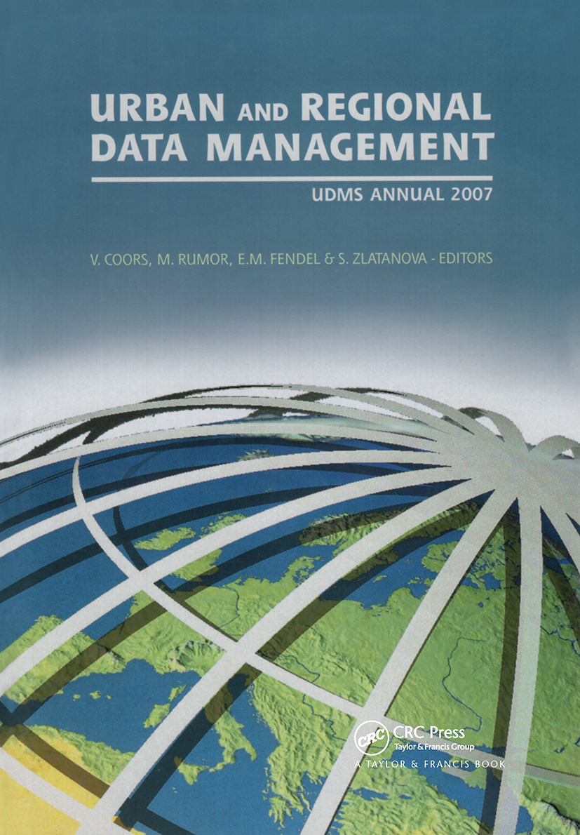 Urban and Regional Data Management: UDMS 2009 Annual book cover