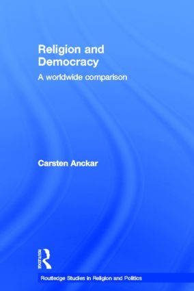 Religion and Democracy: A Worldwide Comparison (Hardback) book cover