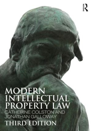 Modern Intellectual Property Law: 3rd Edition (Paperback) book cover