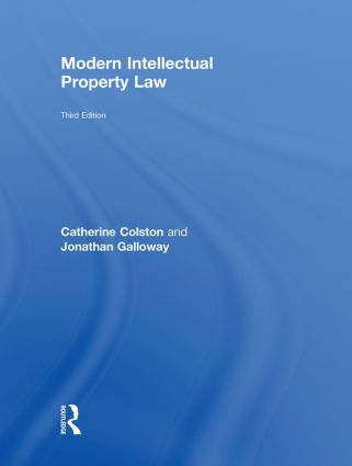 Modern Intellectual Property Law: 3rd Edition (Hardback) book cover