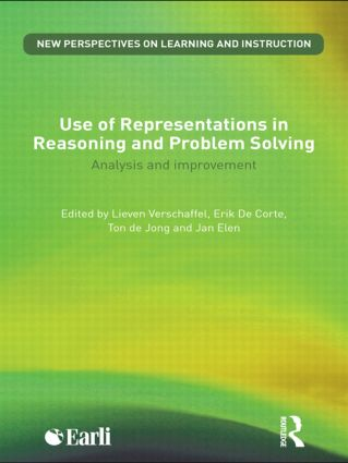 Use of Representations in Reasoning and Problem Solving: Analysis and Improvement, 1st Edition (Paperback) book cover