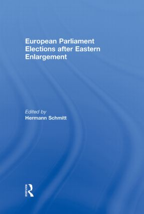 European Parliament Elections after Eastern Enlargement (Hardback) book cover