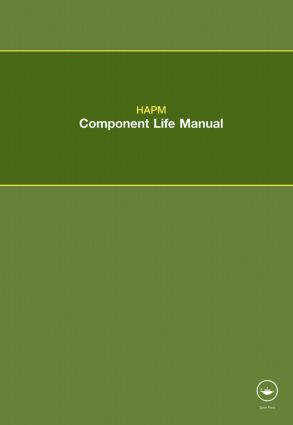 HAPM Component Life Manual: 1st Edition (Paperback) book cover
