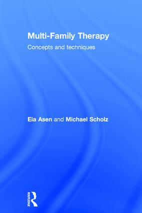 Multi-Family Therapy: Concepts and Techniques, 1st Edition (Hardback) book cover