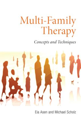Multi-Family Therapy: Concepts and Techniques (Paperback) book cover