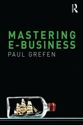 Mastering e-Business: 1st Edition (Paperback) book cover