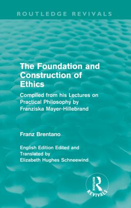 The Foundation and Construction of Ethics (Routledge Revivals): 1st Edition (Paperback) book cover