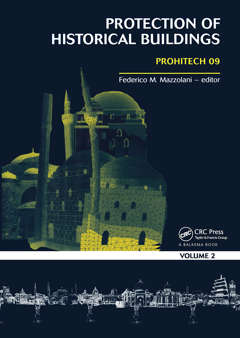 Protection of Historical Buildings, Two Volume Set: PROHITECH 09 (Hardback) book cover