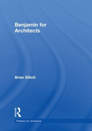 Benjamin for Architects book cover