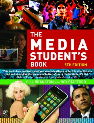The Media Student's Book: 5th Edition (Paperback) book cover