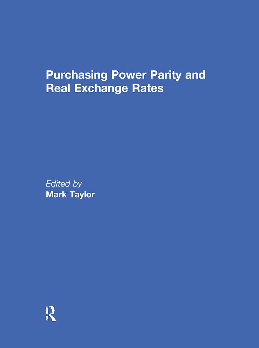 Purchasing Power Parity and Real Exchange Rates (Hardback) book cover