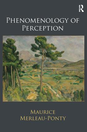 Phenomenology of Perception (Hardback) book cover