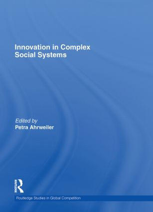 Innovation in Complex Social Systems: 1st Edition (Hardback) book cover