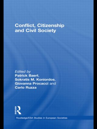 Conflict, Citizenship and Civil Society: 1st Edition (Hardback) book cover