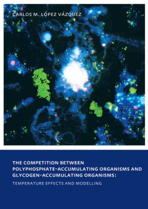The Competition between Polyphosphate-Accumulating Organisms and Glycogen-Accumulating Organisms: Temperature Effects and Modelling: UNESCO-IHE PhD Thesis, 1st Edition (Paperback) book cover