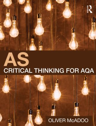 AS Critical Thinking for AQA (Paperback) book cover