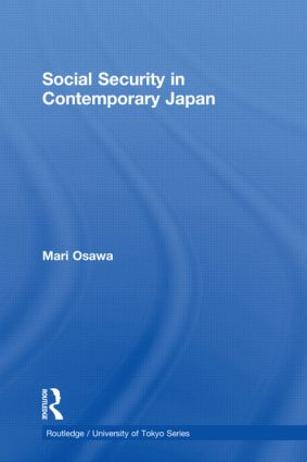 Social Security in Contemporary Japan (Hardback) book cover