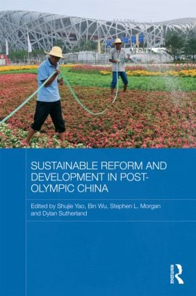 Sustainable Reform and Development in Post-Olympic China (Hardback) book cover