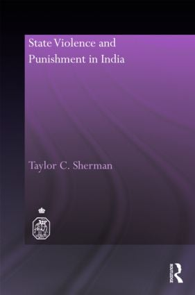 State Violence and Punishment in India (Hardback) book cover