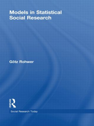 Models in Statistical Social Research (Hardback) book cover