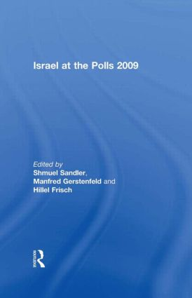 Israel at the Polls 2009: 1st Edition (Paperback) book cover