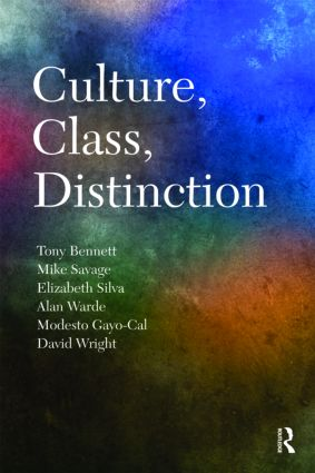 Culture, Class, Distinction book cover