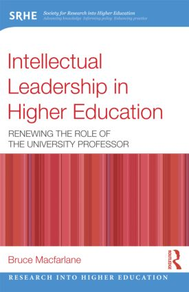 Intellectual Leadership in Higher Education: Renewing the role of the university professor (Paperback) book cover