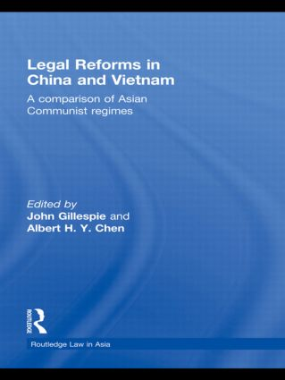 Legal Reforms in China and Vietnam: A Comparison of Asian Communist Regimes (Hardback) book cover