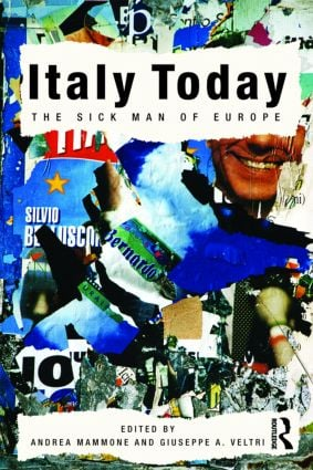 Italy Today: The Sick Man of Europe (Paperback) book cover