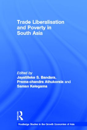 Trade Liberalisation and Poverty in South Asia (Hardback) book cover